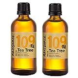 Naissance Aceite Esencial de Árbol de Té n. º 109 – 200ml (2x100ml) - 100% Puro, vegano y no OGM