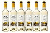 Viñas Del Vero Macabeo-Chardonnay - Vino D.O. Somontano - 6 Botellas de 750 ml - Total : 4500 ml