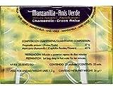 Infusiones Manzanilla, Anis Verde 20 unidades de Soria Natural