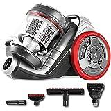 Cecotec Aspirador de Trineo sin Bolsa EcoExtreme 3000. Eficiencia Energética 3AAA, Depósito 3,5 Litros, 4 Accesorios, Filtrado Alta eficiencia.