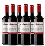 Viña Pomal  Vino Tinto Crianza 2017 Viña Pomal   Medalla de Plata Mundus Vini - 2017   D.O.Ca. Rioja   Caja de 6 botellas de 75 cl