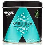 Espirulina Ecológica Premium para 9 Meses | 600 comprimidos de 500mg con 99% BIO Spirulina | Vegano - Saciante - DETOX - Proteína Vegetal | Certificación Ecológica