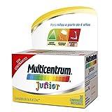 Multicentrum Junior Complemento Alimenticio Multivitaminas con 12 Vitaminas y 4 Minerales, Sin Gluten, Sabor a Fruta, 30 Comprimidos Masticables