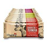 cherky Barritas de Ternera y Cerdo Ibérico Selección 12 Unidades de 35g Snack salado saludable sin azúcar y sin aditivos 540 g