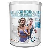 Colágeno Con Magnesio – Vitamina C – Ácido Hialurónico - Colágeno hidrolizado en polvo con magnesio Para la Salud de Tus huesos y articulaciones – 300 gramos