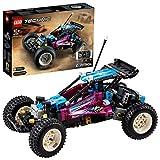 LEGO 42124 Technic Buggy Todoterreno, Coche Retro Teledirigido, Controlado por App CONTROL+, Juguete Radiocontrol para Niños