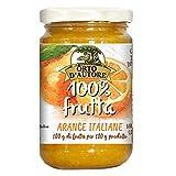 ORTO D'AUTORE Compota de Naranjas Italianas 3 X 340 gr, Mermelada 100% de Fruta Italiana, Mermelada sin Azúcares Añadidos con Fruta Entera o Trozos, Cocción a Baja Temperatura, VeganOk, Gluten free