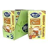 Hero Baby - Papilla de 8 Cereales con Miel sin Azúcares Añadidos, para Bebés a Partir de los 6 Meses - Pack de 3 x 820 g