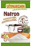 Bicarbonato Di Sodio alimenticio ecologico Formula Alimenticia (NaHC03) 20g Biovegan | Bicarbonato Di Sodio Grado Alimenticio Sin Dióxido De Azufre Sin Sulfitos Sin Aluminio- Bicarbonato Di Sodio Puro