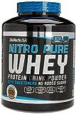 BioTech Nitro Pure Whey Proteínas Sabor Caramelo y Cappuccino - 2270 gr