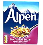 Weetabix Alpine Muesli sin azúcar añadido, Fresa, Arándano, Frambuesa - cereales de desayuno, 1x560g