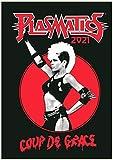 Calendario de pared 2021 [12 páginas de 20,3 x 28 cm] Plasmatics Wendy O Williams Vintage Punk Rock Music Photo Poster