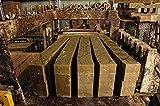 El Serail Savonnerie Marseillaise desde 1949 - Barra de jabón genuino de Marsella 1,4 Kg. Jabón crudo EXTRA PURO de aceite de OLIVA - Garantía sin aceite de palma