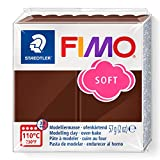 FIMO 8020 - Pasta de modelar, color chocolate, 56 gr