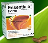 ESSENTIALE FORTE 300mg - 100 capsules (2x 50 caps) - Liver Detox Cleanse - Total Liver Regeneration Protection Health Support Treatment - Liver damage caused by Medicine Alcohol Drugs Toxic Hepatitis - Clinically Proven NEW by SANOFI - A.Nattermann & Cie. GmbH