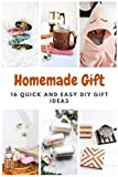 Homemade Gift: 16 Quick and Easy DIY Gift Ideas (English Edition)