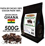 Cacao Venezuela Delta - Chocolate Negro Puro 100% · Origen Ghana (Pasta, Masa, Licor De Cacao 100%) · 500g