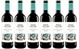 Viñas Del Vero Tinto Cabernet-Merlot - Vino D.O. Somontano - 6 botellas de 750 ml - Total: 4500 ml