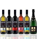 Lote degustación: 6 botellas Lussory, vino desalcoholizado 2 Blancos+2 Tintos+ 1 Rosado + 1 Espumoso (6x0,75) SIN ALCOHOL