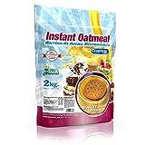 Quamtrax Nutrition Avena Instantánea, Sabor Natillas con Crema - 2000 gr