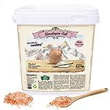 Nortembio Sal Rosa del Himalaya 6,2 Kg. Gruesa (2-5 mm). Sal Gourmet 100% Natural. Rica en Minerales. Cocina Sana. Sin Refinar. Sin Conservantes. Extraída a mano. De Punjab Pakistán.