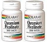 Picolinato de Cromo 200 mg 50 comprimidos (Pack 2 u.)