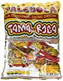 TAMA-ROCA ( Palebola - Tamarind Lollipops with salt and chili -Authentic Mexican Candy with Free Chocolate Kinder Bar